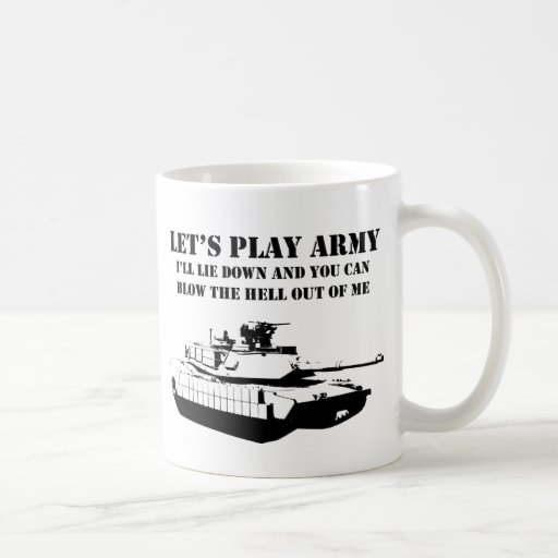 Juguemos al ejército tazas de café