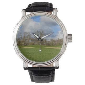 Juguemos al golf relojes de pulsera