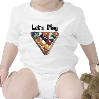 Juguemos billares traje de bebé