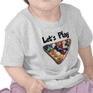 Juguemos billares camisetas