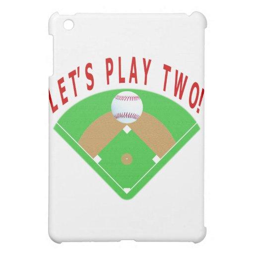 Juguemos dos camisetas y regalos del béisbol