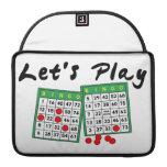 Juguemos el bingo funda para macbooks