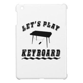 Juguemos el teclado iPad mini funda