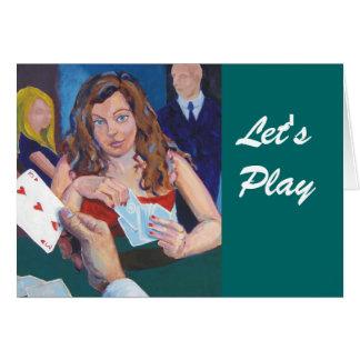 Juguemos Tarjeta De Felicitación