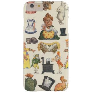 Juguete de la muñeca del papel del Victorian del Funda Barely There iPhone 6 Plus