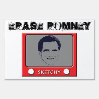 Juguete del bosquejo de Romney Letreros