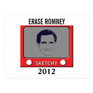 Juguete del bosquejo de Romney Postales