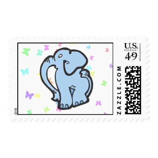 Juguete del elefante sello
