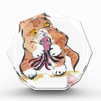Juguete del pulpo y gatito del tigre, Sumi-e