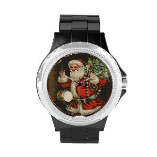 Juguete del regalo del presente del árbol de navid relojes