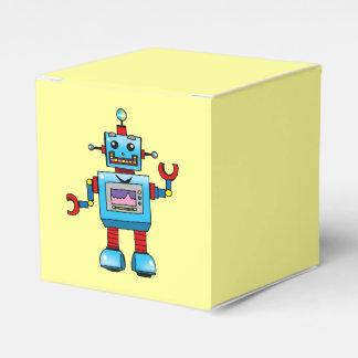 juguete lindo del robot caja para regalo de boda