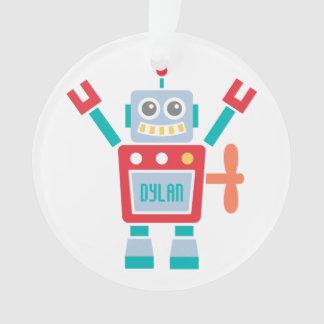Juguete lindo del robot del vintage para el sitio