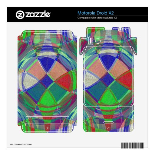 Juguete Motorola Droid X2 Skins