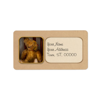 Juguete - oso de peluche - mi oso de peluche etiquetas de dirección