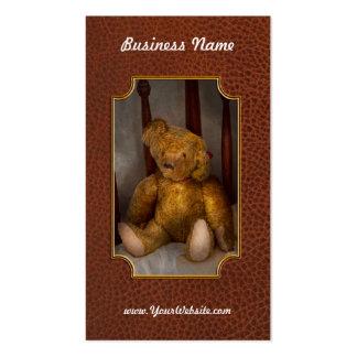 Juguete - oso de peluche - mi oso de peluche tarjetas de negocios
