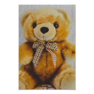 Juguete relleno del oso de peluche cojinete