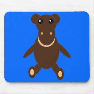 Juguete relleno Mousepad del mono Alfombrillas De Ratones