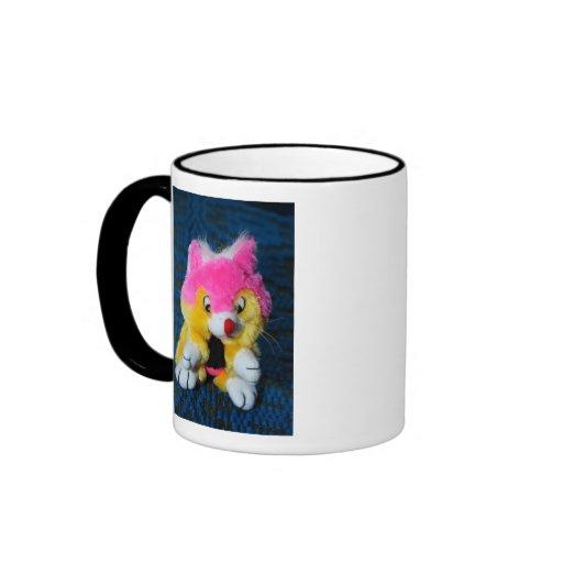 Juguete relleno taza