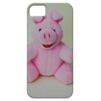 Juguete rosado del cerdo iPhone 5 cárcasa