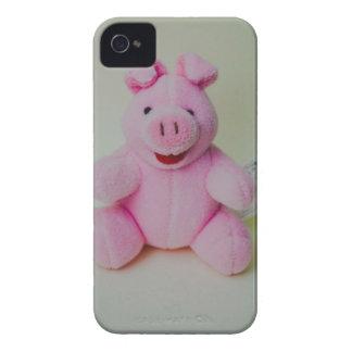 Juguete rosado del cerdo Case-Mate iPhone 4 carcasa
