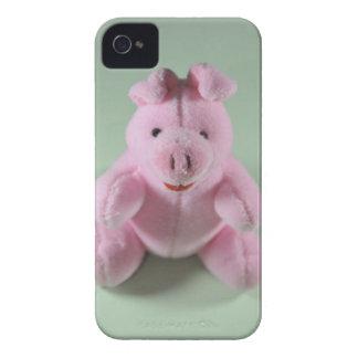 Juguete rosado del cerdo iPhone 4 Case-Mate cárcasas