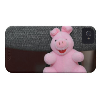 Juguete rosado del cerdo iPhone 4 coberturas