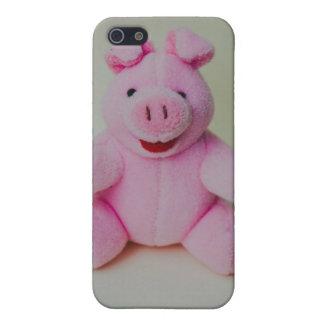 Juguete rosado del cerdo iPhone 5 cobertura