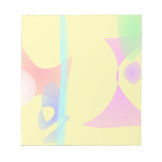 Juguetes abstractos amarillos bloc