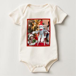 Juguetes del navidad body para bebé