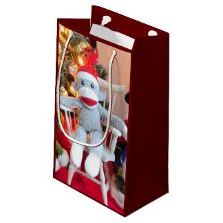 Juguetes del navidad bolsa de regalo pequeña