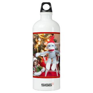 Juguetes del navidad botella de agua