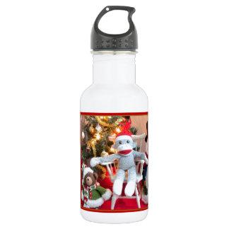 Juguetes del navidad botella de agua de acero inoxidable