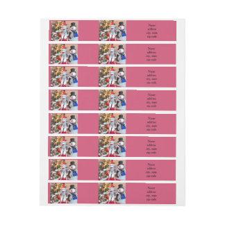 Juguetes del navidad etiquetas postales