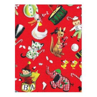 Juguetes del navidad postal