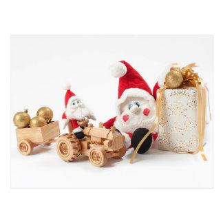 Juguetes del navidad tarjetas postales