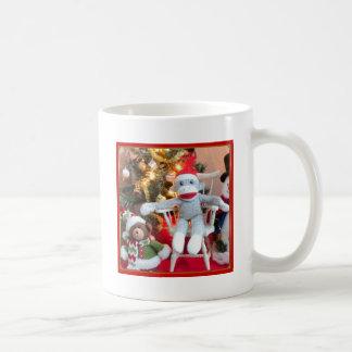 Juguetes del navidad taza de café
