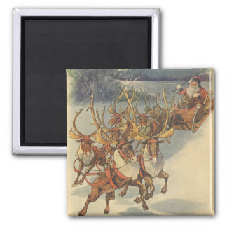 Juguetes del trineo del reno de Papá Noel del Imanes Para Frigoríficos