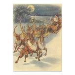 Juguetes del trineo del reno de Papá Noel del Comunicados Personalizados