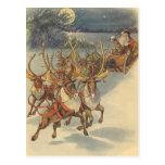 Juguetes del trineo del reno de Papá Noel del navi