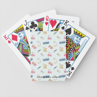 Juguetes del vintage baraja cartas de poker