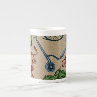 Juguetes del vintage taza de té