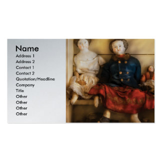 Juguetes - muñecas clasificadas tarjetas de visita