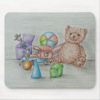 juguetes tapete de ratones