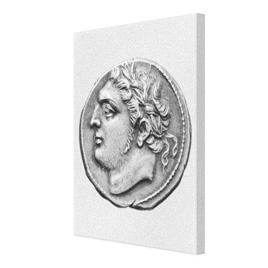 Jugurtha  King of Numidia Canvas Print