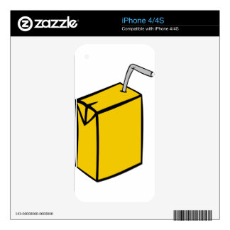 Juice Box Decal For The iPhone 4