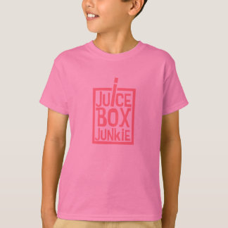 Juice Box Junkie Pink T-Shirt
