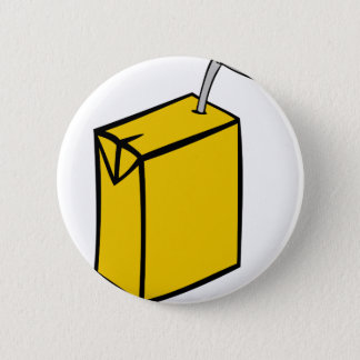 Juice Box Pinback Button