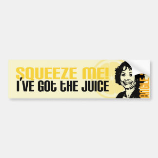 Juice Bumper Sticker
