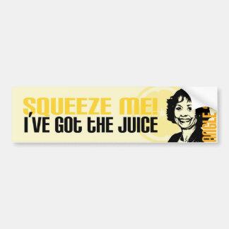 Juice Bumper Sticker