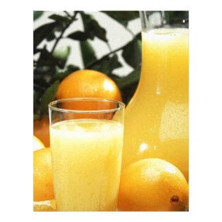Juice Food Letterhead Design